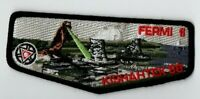 Boy Scout OA 88 Kishahtek Lodge 2015 Fermi II Black Border Centennial Flap