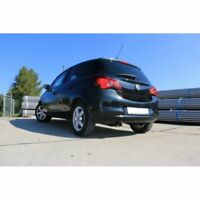 Fox Escape Deportivo Adecuado para Opel Corsa E Silenciador - 1x90 Tipo 25