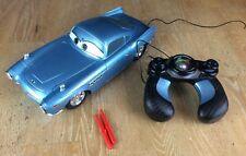 Disney Cars Finn McMissile Remote Control Car Shoots Missiles Sound Effects