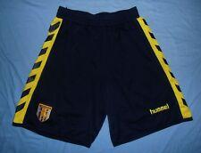 Aston Villa FC / 2005-2006 Away - HUMMEL - MENS football Shorts. Size: 34 (S/M?)