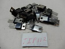 Motorola Tip112 Lot of 20? Transistors Nos Bgx