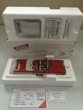 Danbury Mint Limited Edition 1958 Pontiac Bonneville Convertible 1:24 Diecast