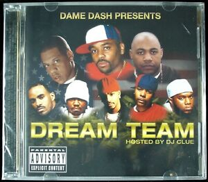 """DAME DASH """"DREAM TEAM - PAID IN FULL SOUNDTRACK"""" 2002 2X CD 27 TRACKS *SEALED*"""