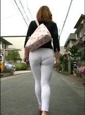 Women Mesh Sheer Legging Transparent See Through Skinny Pencil Pants Trouser