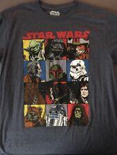 Star Wars Classic Trilogy Mosaic Tee Size L