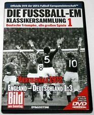 DVD Die Fußball-EM Viertelfinale 1972 England-Deutschland #DeAgostini, BILD-DVD