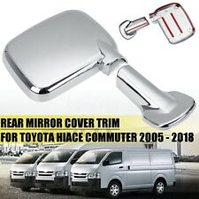 Side Mirror Rearview Door Fender Lens RH Fit For Toyota Ventury Commuter 2005-18