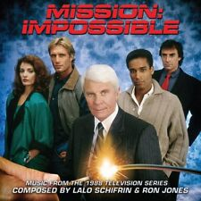 MISSION: IMPOSSIBLE 1988 TV Series 2-CD Soundtrack LALO SCHIFRIN + RON JONES New