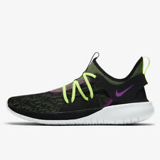 Men's Nike Flex Contact 3 Running Shoes, AQ7484 001 Multi Sizes Black/Volt/Viole