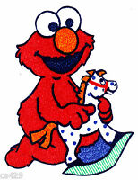 "4"" SESAME STREET BABIES BABY ELMO TOYS CHARACTER  PREPASTED WALL BORDER CUT OUT"
