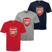 Arsenal FC Official Football Gift Kids Crest T-Shirt