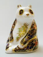 Royal Crown Derby Imperial Panda - Boxed - Made in England
