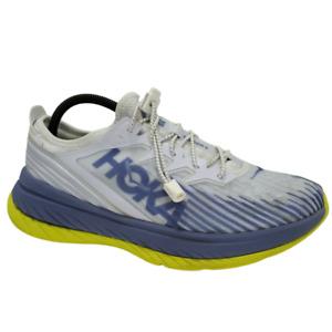 HOKA One Carbon X-SPE Men's Running Shoes 1110512-WBIC Marathon Size 9.5 Blue