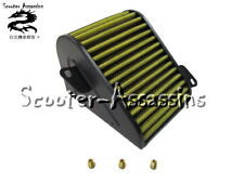 POWER AIR FILTER + JET KIT for SYM Attila,Fiddle 125,Jet-4 125,Duke,Symply 125cc