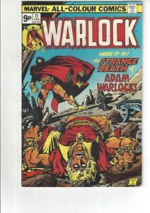 The Power of Warlock #11 VF 8.0 Marvel Comics 1976