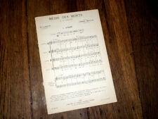 Messe des morts à IV parties à 4 voix mixtes et basse ou orgue Poitevin XVIIè