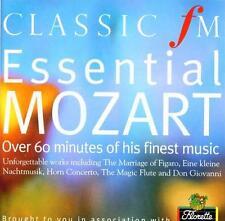 ESSENTIAL MOZART: CLASSIC FM CD (2003) COLIN DAVIS,  JAMES GALWAY, HAITINK ETC
