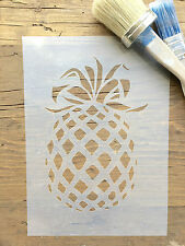 Pineapple Stencil, Fruit Stencil, Tropical Fruit Stencil, Kitchen Stencil, Craft