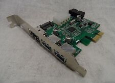 USB 3.0 eSATA SATA Extender auf PCI-E PCI Express Card Adapter Converter wie Neu