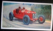Alfa Romeo P2    Campari   1924 French GP     Unmounted Motor Racing Card # VGC