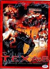 2004 UT Texas Team Signed Baseball Program PSA/DNA