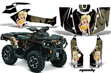 Can Am AMR Racing Graphics Sticker Kits ATV CanAm Outlander SST Decals 2012 MNDY