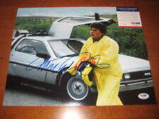 MICHAEL J FOX SIGNED 11X14 PHOTO PSA BACK 2 FUTURE 7