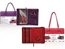 Knitter's Pride :Faux Leather Thames Small Project Bag: Purple