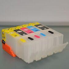 EMPTY Refillable ink cartridge for canon  MX722 MX922 IP7220 PGI-250 CLI-251 ARC