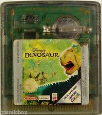 Game Boy Color DINOSAUR DISNEY jeu video enfant testé pour cartouche Nintendo sp