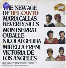 NEW AGE OF BEL CANTO Callas Sills Caballé .. LP EMI Angel Voices s-36933 sealed