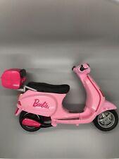 Barbie Pink Vespa Scooter Bike.