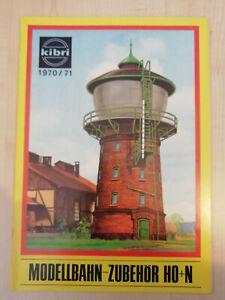 Kibri 1970/71 Katalog - sehr guter Zustand (1233)