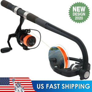 Fishing Line Winder Reel Spooler Machine Spooling Station System