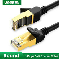 Ugreen CAT7 Ethernet Netzwerkkabel Gigabit Lan RJ45 10Gbps STP für Switch Router