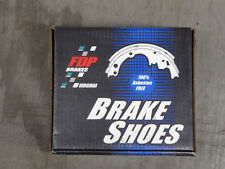 BRAND NEW FDP 657L REAR BRAKE SHOE SET FITS VEHICLES LISTED ON CHART