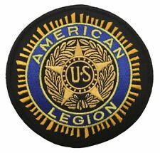 American Legion, Vintage, Hat, Biker, Veteran, Patch (3 Inch Iron/ Sew On)