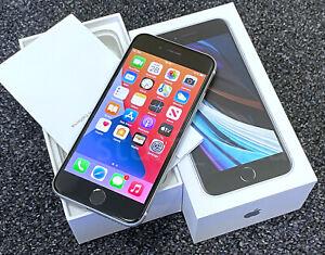 Apple iPhone SE 2020 (2nd gen, A2296), 64GB, White, UNLOCKED, good+box -643