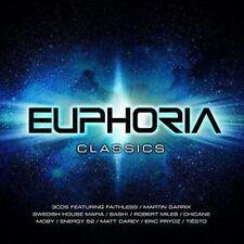 Ministry of Sound  - Euphoria Classics  - 3 x CD Album - New & Sealed