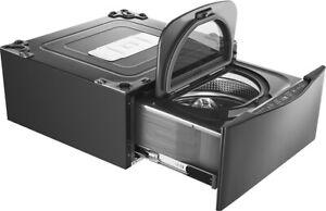 (1)LG WD205CK & (2) WD200CV SideKick 1 cu. ft. Pedestal Washer