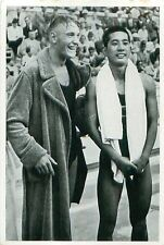 89. Tetsuo Hamuro Japan Erwin Sietas Germany Swimming OLYMPIC GAMES 1936 CARD