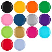 Einweg Pappteller in vielen Farben, Imbiss Partyteller, ø ca 23 cm, 8 Teller