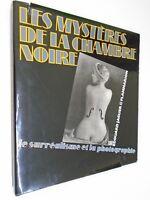 E.JAGUER -MYSTERES DE LA CHAMBRE NOIR-SURREALISME PHOTOGRAPHIE-1982 - Flammarion