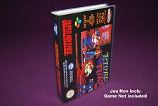RIVAL TURF - Super Nintendo SNES FAH - Universal Game Case (UGC)