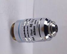 Nikon Plan Fluor CFN 40x /0.75 160mm TL Microscope Objective