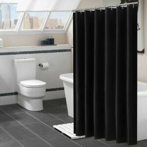 Bad Duschvorhang Badewannenvorhang Groß Größe Dusche Vorhang Dekoration Schwarz