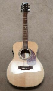 Copy of Martin OM28, Fishman electrics, great stage guitar, VGC, soft case