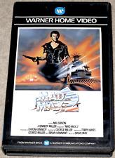 Mel Gibson MAD MAX 2 Vernon Welles WARNER Dutch VHS Post-Nuke (1981)