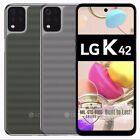 "Brand New LG K42 (LM-K420YMW) 64GB 3GB RAM 6.6"" HD+ Factory Unlocked Dual SIM"