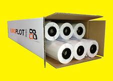 (0,26£/m²) Plotter paper waterproof   6 rolls   90gsm, 594 mm x 50 m   CAD